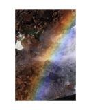 Rainbow In Spray Below Vernal Fall  Yosemite Np