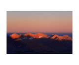 Kaweah Peaks At Sunrise From Summit Of Mt Whitney