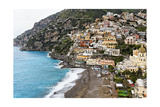 Beach of a Hillside Town  Positano  Italy