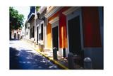 Calle Del Sol  Old San Juan; Puerto Rico