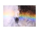 Rainbow In Spray Of Upper Yosemite Fall
