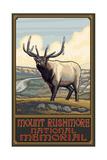 Mount Rushmore Elk Pal 1995