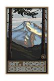 Mount Hood, Oregon Reproduction d'art par Paul A Lanquist