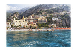 Positano Seaside View  Amalfi Coast  Italy