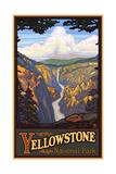 Yellowstone Falls Yellowston National Park