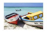 Boats on Eagle Beach  Aruba