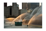 Buckingham Fountain Sidelight