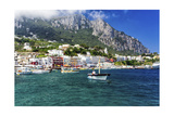 Marina Grande View from the Sea  Capri  Italy