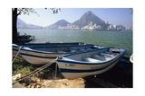 Fishing Boats  Lagoa  Rio de Janeiro