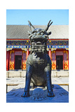 Sculpture of a Qilin  Summer Palace  Beijing
