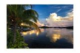 Cloud Reflection  La Parguera  Puerto Rico
