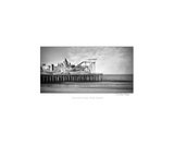 Black And White Photo Of Seaside Heights Boardwalk