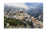 Town Built on a Hillside  Positano  Italy