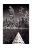 Lake Kayaking BW