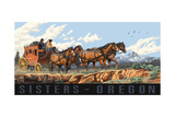 Sisters Oregon Stage Coach Pal 3079