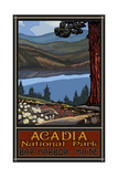 Acadia National Park Lake Trails