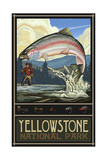 Yellowstone National Park Rainbow Trout Pal 774
