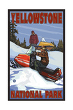 Snowmobile Yellowstone National Park Pal 299