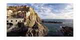 Cinque Terre Town On The Cliff  Mnarola  Italy