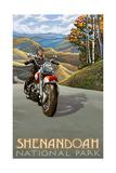 Shenandoah National Park Motorcycle 2692