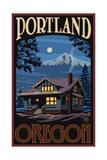 Portland Oregon Winter House Pal 041
