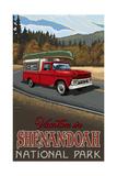 A pickup trip through Shenandoah National Park