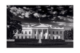 White House Sunrise B W