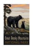 Great Smoky Mountains Black Bear Family Pal 1278