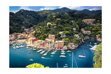 Portofino Birds Eye View  Liguria  Italy