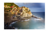 Manarola in After Storm Light  Cinque Terre  Italy
