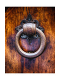 Antique Door Knocker In Florence