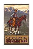Sequoia National Park Mountain Man Pal 1215
