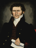Gentleman of Squire Williams House  ca 1829