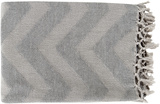 Thacker Throw - Light Gray/Soft Gray