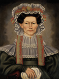 Lady of Squire Williams House  ca 1829
