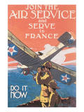 Join The Air Service And Serve In France