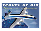 Travel By Air  History of Civil Aviation Posters