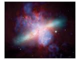 NASA - M82 Rainbow Galaxy