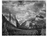 Yosemite Tunnel View Black and White I