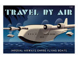 Travel By Air  Imperial Airways Empire Flying Boat