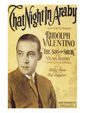 That Night in Araby  Rudolph Valentino