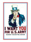 Uncle Sam: I Want You For US Army - Modern