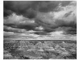 Grand Canyon Powell Point Black and White I