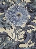 Indigo Deco Flower I