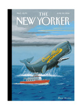 Cap'n Ahab's - The New Yorker Cover  June 30  2014