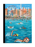 Coney Island - The New Yorker Cover  July 21  2014