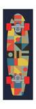 Bauhaus Skateboard Giclée