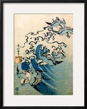 Waves and Birds  circa 1825