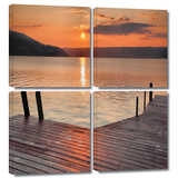 Another Kekua Sunrise 4 piece gallery-wrapped canvas