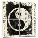 Tao 4 piece gallery-wrapped canvas